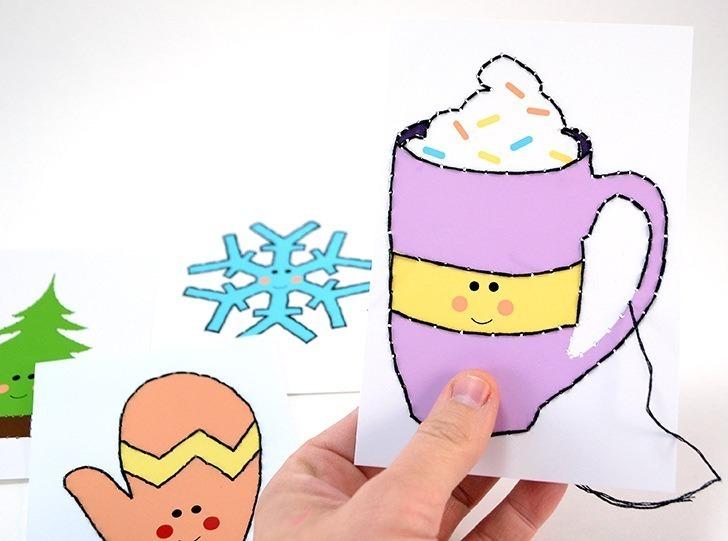 002-february-winter-kids-stitch-cards-embroidery-dreamalittlebigger