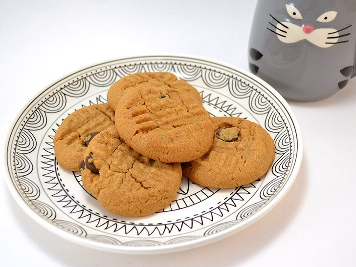 These 3 ingredient peanut butter cookies are amazing and just so happen to be gluten free, too!