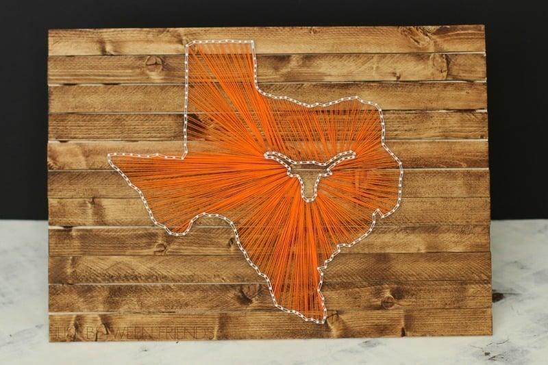 Texas Longhorn String Art Tutorial Dream A Little Bigger