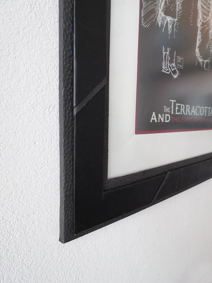 diy cardboard frame 11