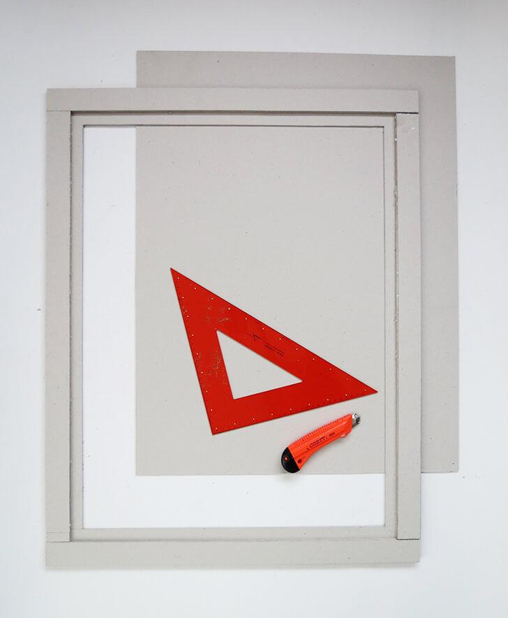 diy cardboard frame 4