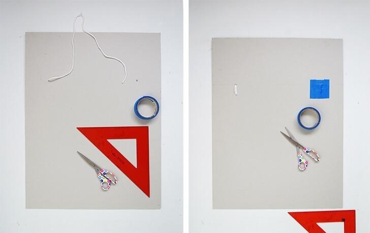 diy cardboard frame 7