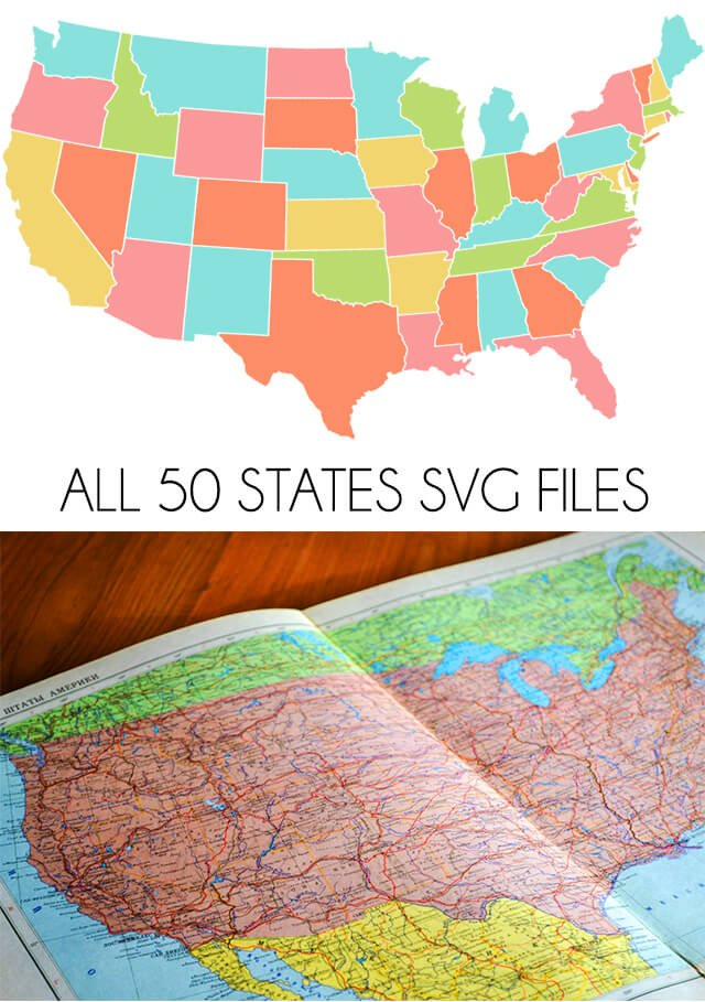 Get Svg Files For All 50 U S States For Free