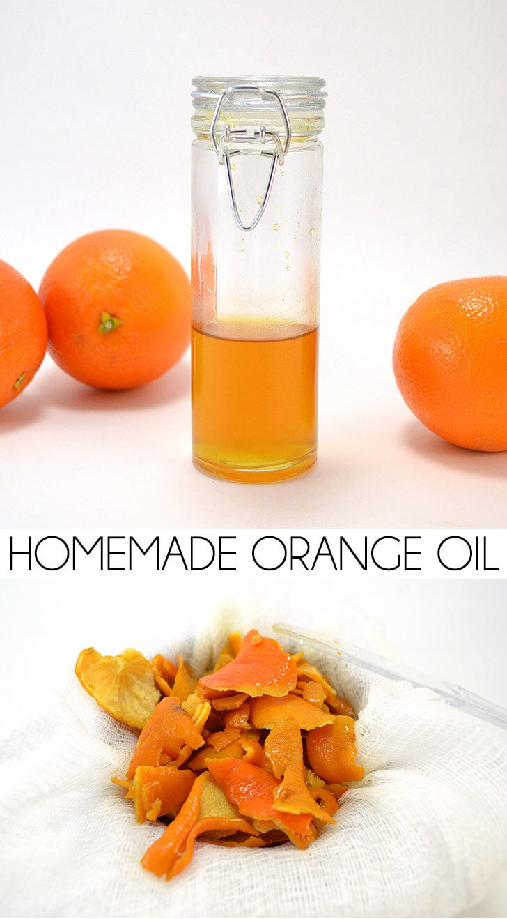 Homemade Orange Oil