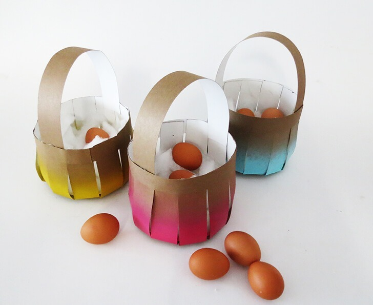 diy easy easter egg basket 9