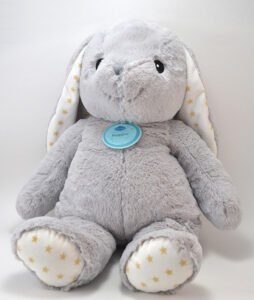 This stuffed animal Easter basket is super cute and can be used year round for ridiculously cute bedroom storage!