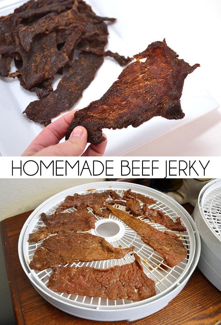 Homemade Beef Jerky Recipe - Dream a Little Bigger