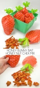 Looking for a savory snack for Easter? Check out this honey bunny bait - a.k.a. honey nut chex mix!