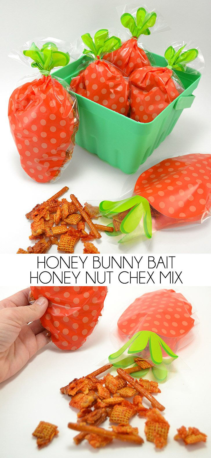Honey Bunny Bait – Honey Nut Chex Mix Recipe