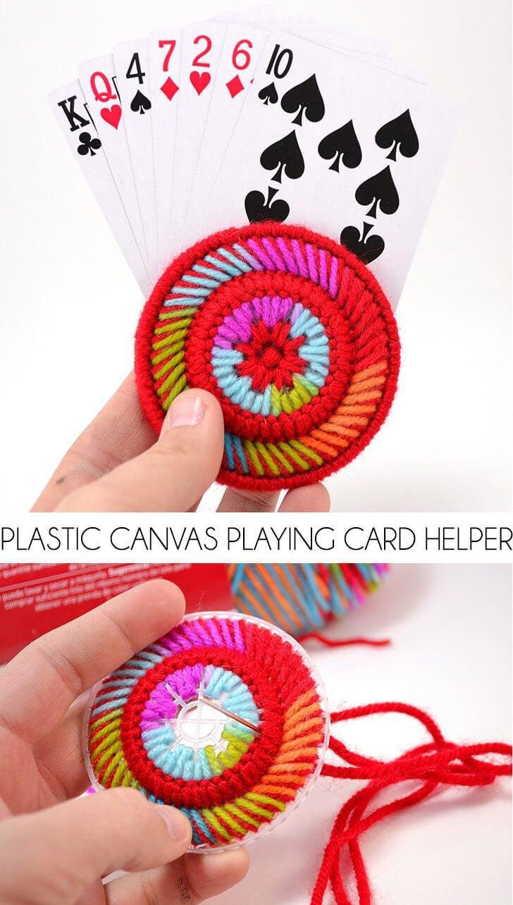 Plastic Canvas Playing Card Helper Dream A Little Bigger