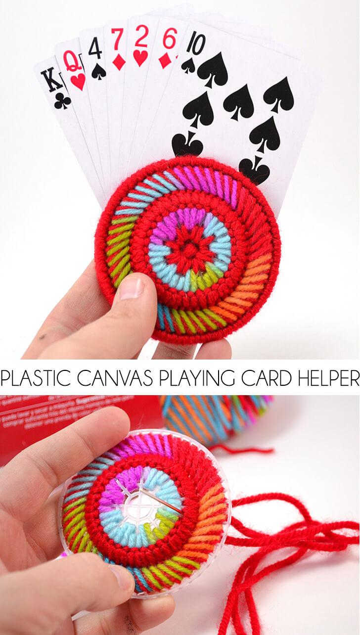 Plastic Canvas Playing Card Helper