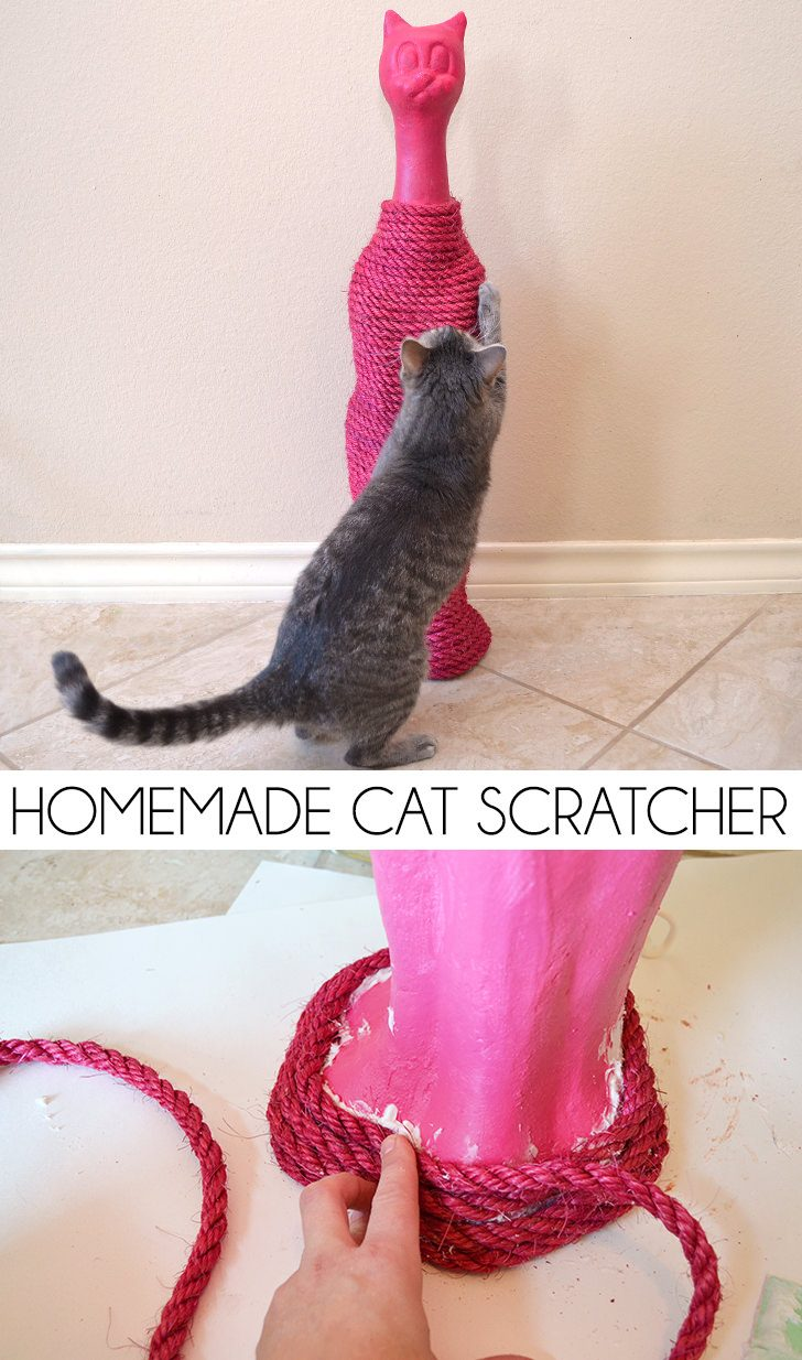 Homemade Cat Scratcher
