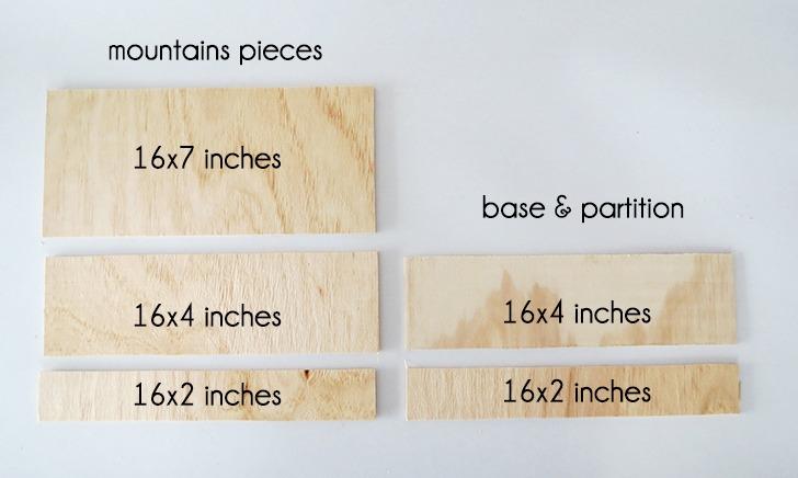 diy plywood desk organizer 2
