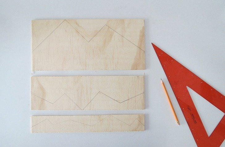 diy plywood desk organizer 3