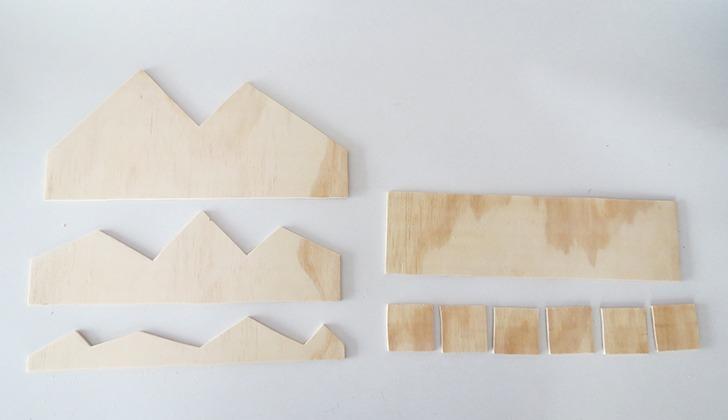 diy plywood desk organizer 4
