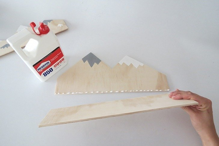 diy plywood desk organizer 6