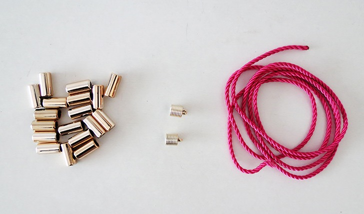 diy rope statement necklace 2