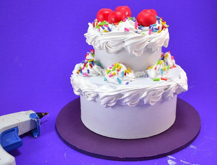 Silicone Caulk Decoden Turns Paper Mache Bo Into An Awesome Fake Cake Jewelry Box Get