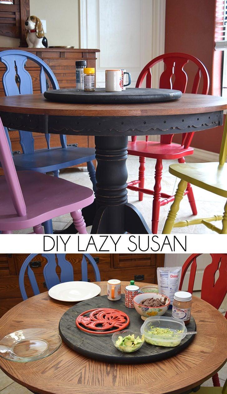 DIY Lazy Susan
