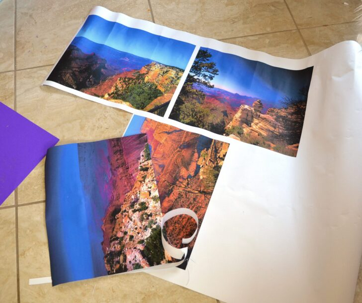 I always wondered if you could transfer an image to cork! Putting vintage pictures of the Grande Canyon on cork place mats is so fun!