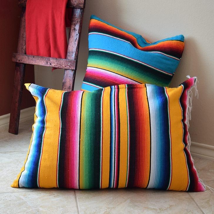 Quick Floor Pillows Tutorial - Dream a Little Bigger