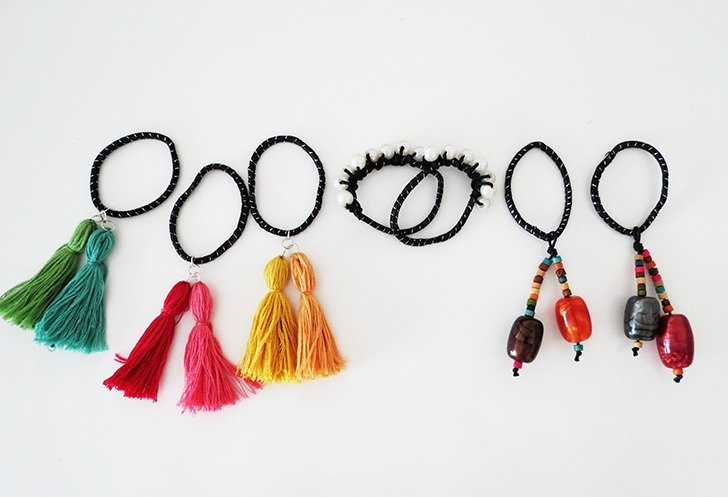 diy hair tie customization 14