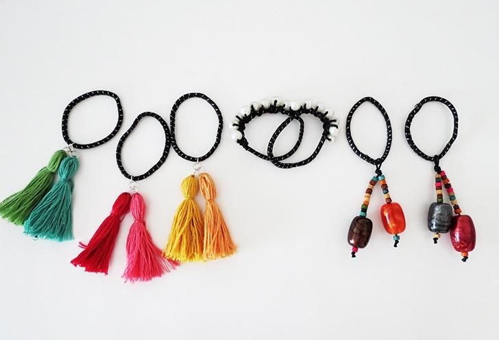 diy hair tie customization 14