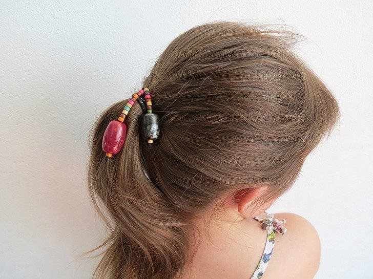 diy hair tie customization 4