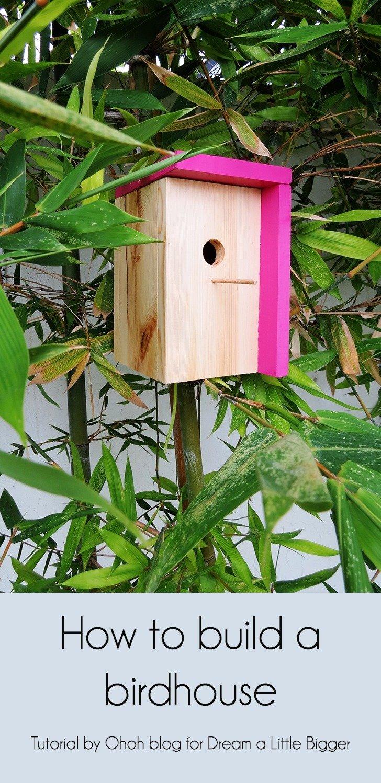 diy modern bird house 1