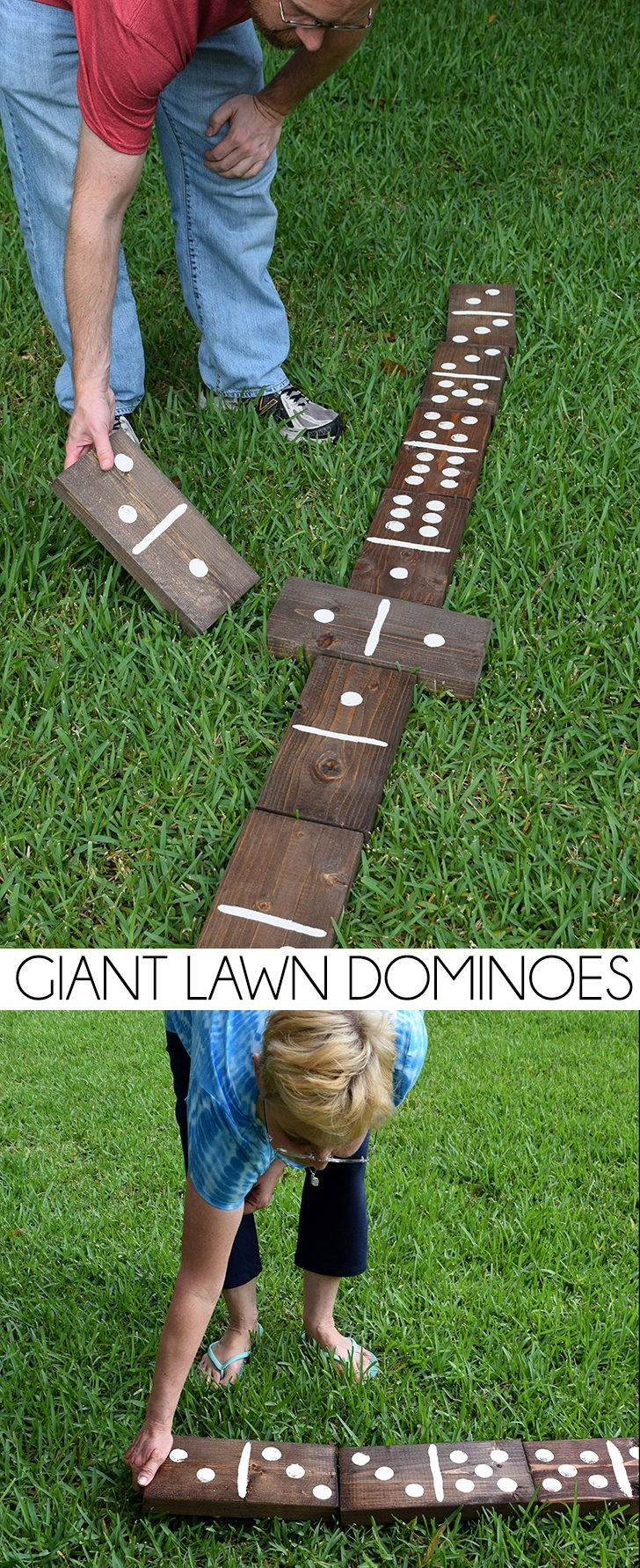 Giant Lawn Dominoes