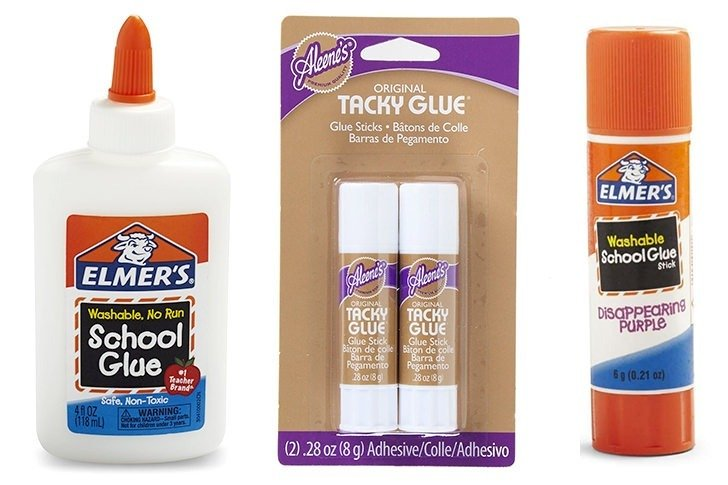 Glue Guide by Dream a Little Bigger - always use the right glue - FREE downloadable reference chart