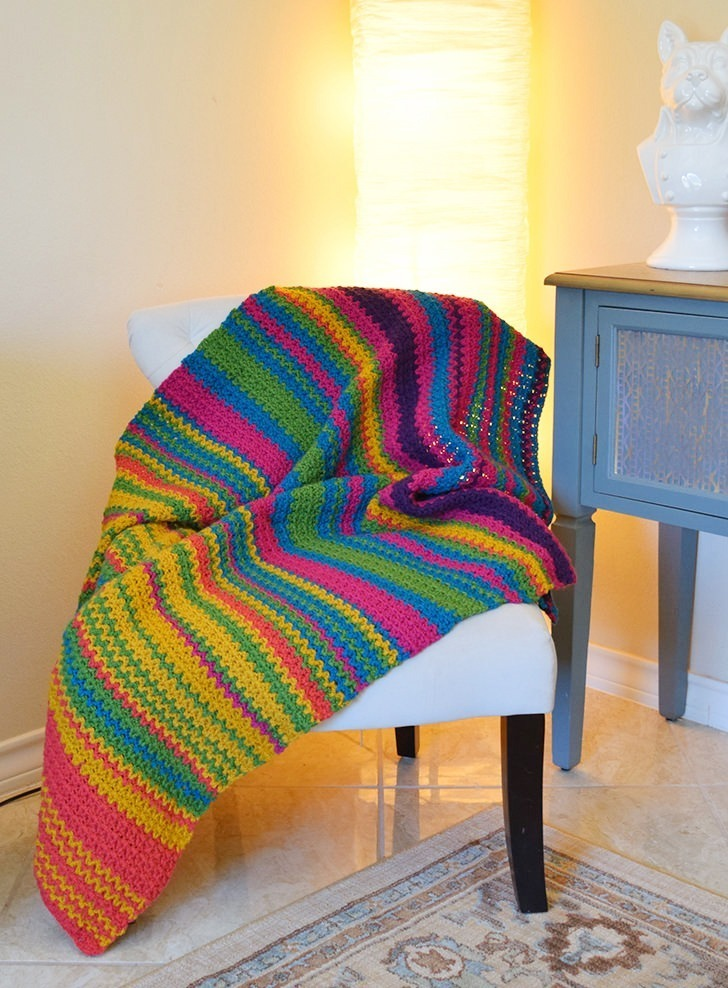 Temperature Afghan Crochet Project
