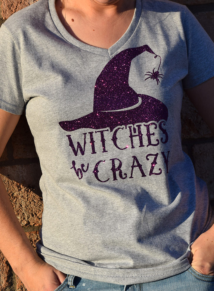 Witches be Crazy Halloween Tee Shirt