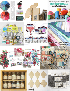 Check out the sixth annual handmade holiday blog hop, 2016!