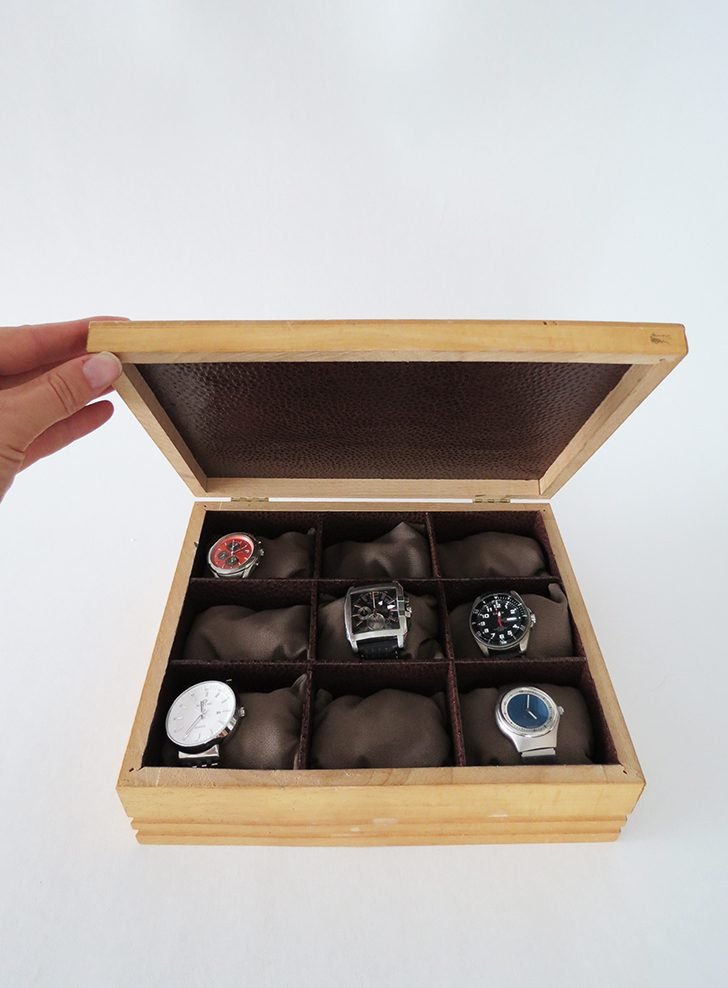 How to make a watch box