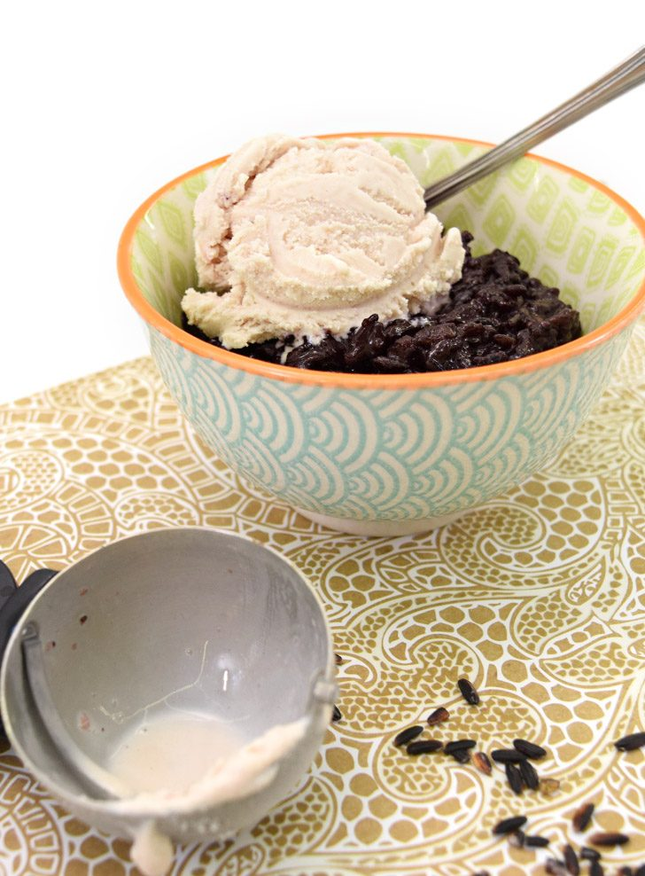 Black Sticky Rice Dessert Recipe