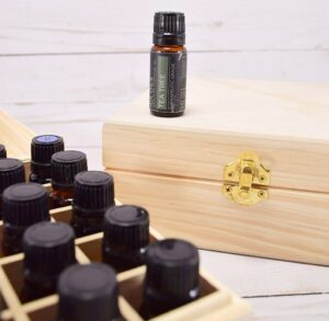 Essential oils can be expensive making misplacing them a real drain on the pocketbook. See how I finally keep all of my oils together and organized so I'm not buying the same things over and over!