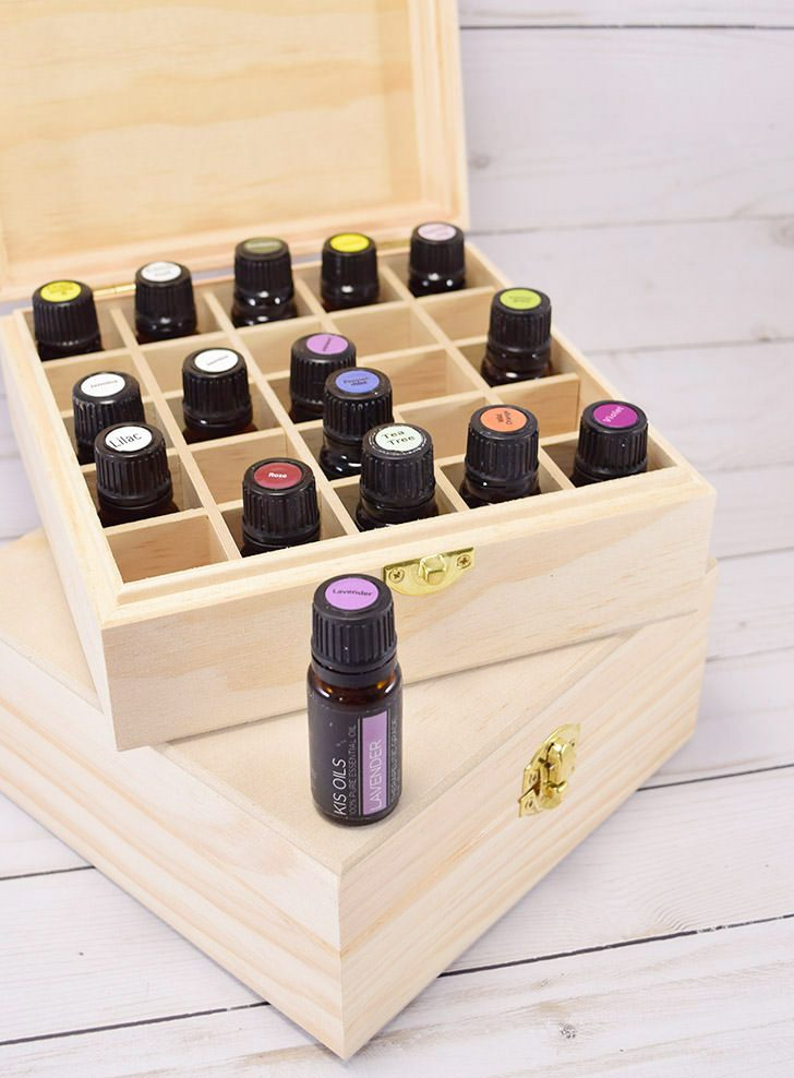 Inexpensive Essential Oil Storage