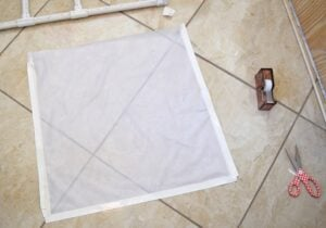 This DIY PVC Light Tent can be made in the perfect size to fit your space and is super easy to make!