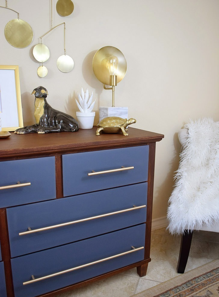 Dated Dresser to Modern Dream with Devine