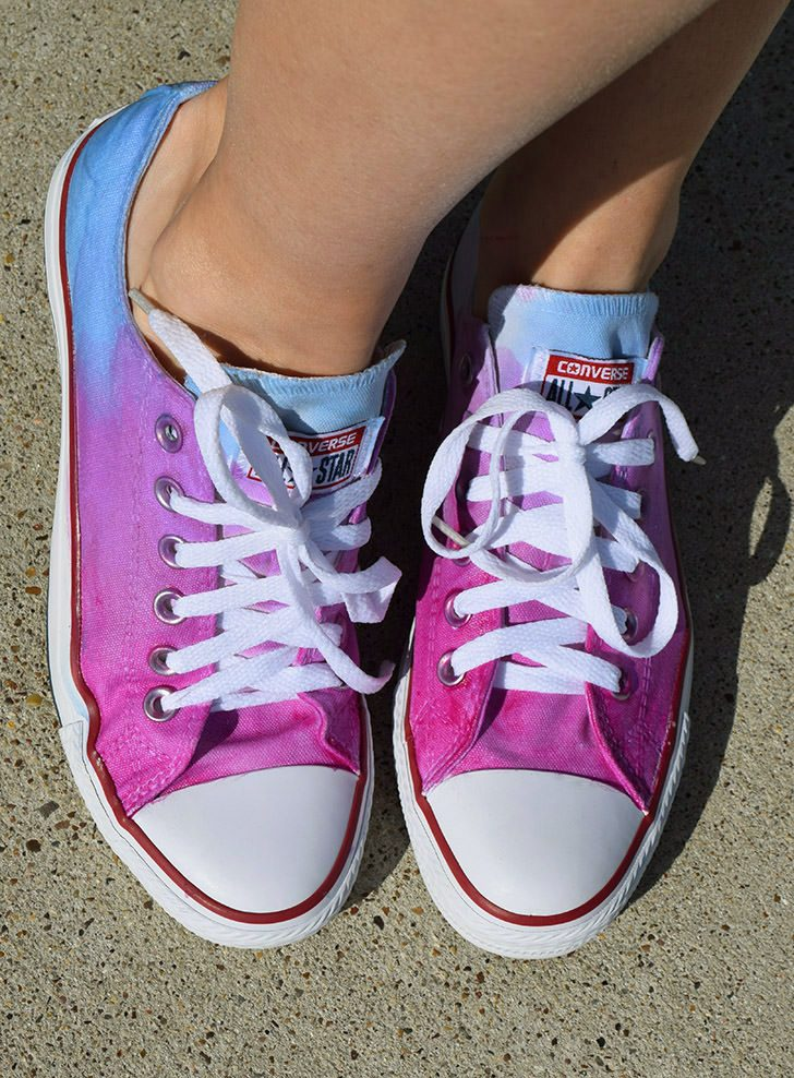 Solar Color Changing Ombre Converse Sneakers