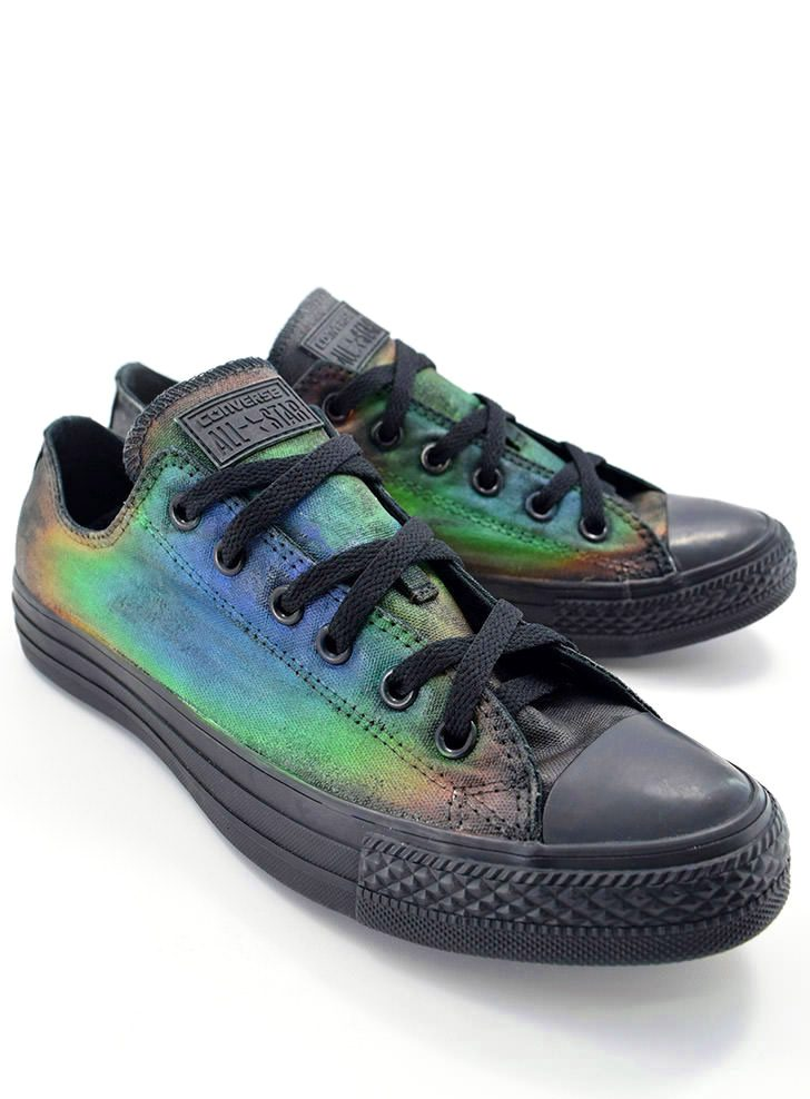 Mood Converse – Temperature Activated Color Changing Shoes