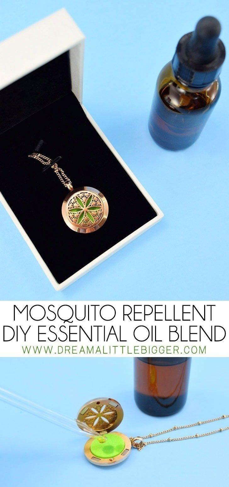 mosquito repellent diy essential oil blend mosquito repelling