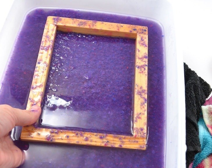 Turn that junk mail into something useful! Learn how to make paper with a homemade deckle (also how to make a wood paper mold).