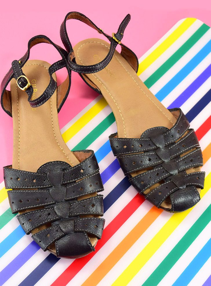 How to Dye Leather Sandals