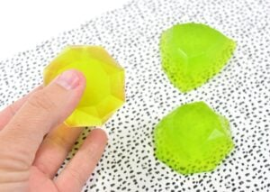 These wiggly, jiggly jelly soaps will make bath time fun again!