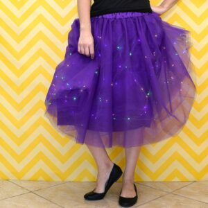 Want a skirt that will wow 'em? This twinkle light party skirt is quick and fabulous and, even better, one of a kind!