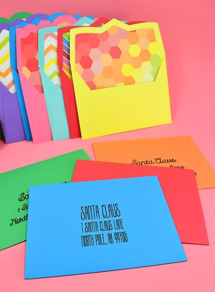 Make Your Own Lined Envelopes from Any Paper