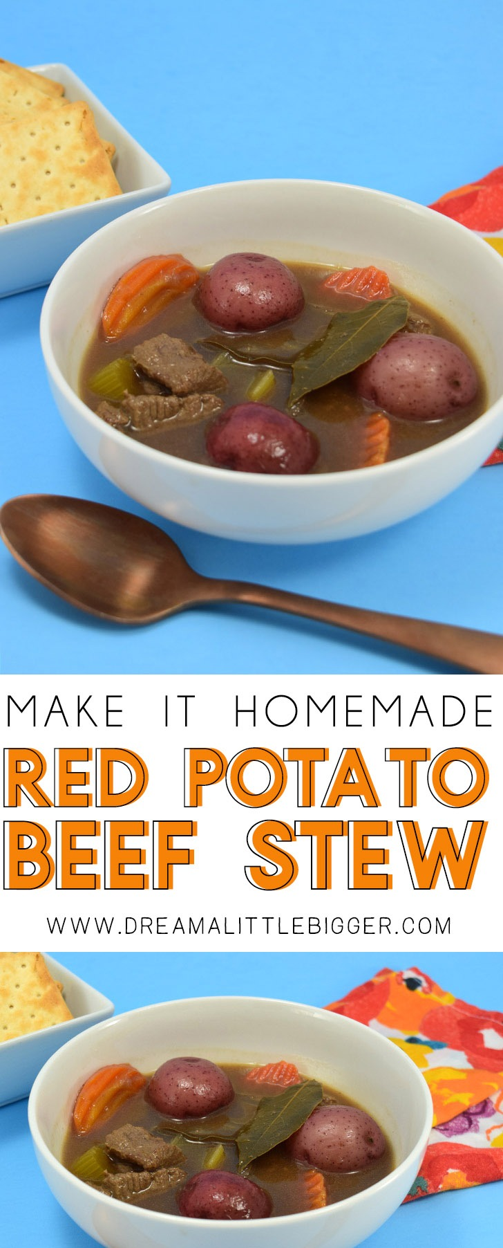 This red potato beef stew smells so heavenly while it cooks and the flavor is just amazing. It's one for our family recipe box!