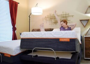 Wondering what a split king bed is? It's a total dream, I'll tell you, especially when you have 2 people who sleep comfortably differently!